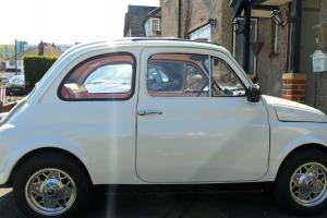 1974 FIAT 500 RARE F2 MODEL 594 CC ROUND SPEEDO