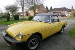 1978 MGB Roadster with overdrive Photo