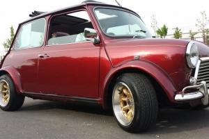 Rover Mini 40 LE 2dr 1.3 mpi, 40th anniversary T reg 1999, only 35,000 miles