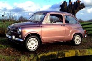 SUPER 1973 FIAT 600L FULLY RESTORED BY CLASSIC FIAT SPECIALISTS