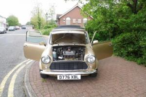 1986 Austin Mini Mayfair in Gold only 19,000 miles