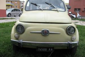 1965 FIAT 500 F *** ITALIAN IMPORT *** RESTORATION PROJECT