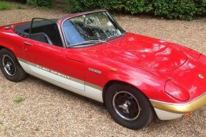 Genuine Lotus Elan Sprint DHC