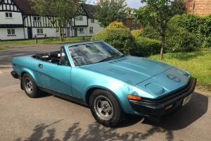 1980 Triumph TR7 / TR8 convertible 3.5 V8 Full MOT Lots of history