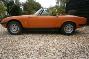 LOTUS ELAN S3 DHC 1966 - EXCELLENT RESTORATION PROJECT