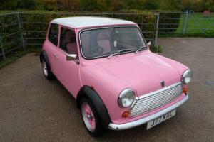 PINK ROVER MINI amazing car, never let me down, REDUCED PRICE FOR QUICK SALE