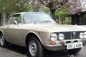Alfa Romeo 2000gtv bertone 28,000 MILES FROM NEW