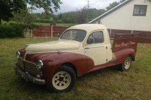 1954 PEUGEOT 203 PICK-UP (view short video to appreciate this lovely classic)