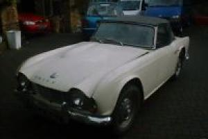 Triumph TR4 1962 Geniune UK RHD Overdrive model Photo
