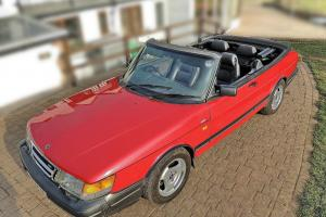 SAAB 900 CONVERTIBLE CLASSIC 67,000 MILES 1992 LPT TURBO AUTO LEATHER A/C CRUISE
