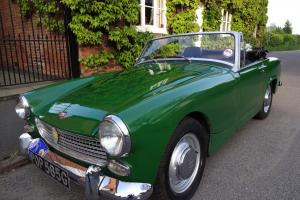 AUSTIN HEALEY SPRITE 1969 1220cc Green Excellent condition Photo