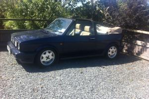 VW Golf mk1 'Rivage' S3 1.8T 20V conversion blue leather