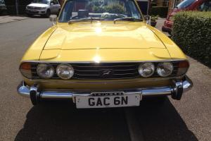 TRIUMPH STAG 3.0 V8 IN MIMOSA YELLOW  Photo