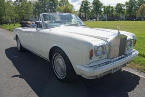 ROLLS ROYCE CORNICHE II CONVERTIBLE,36000 MILES BEAUTIFUL CAR, THE ULTIMATE CAR. Photo