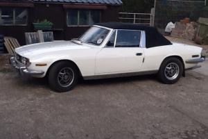 Tax Exempt 1970 Triumph Stag 3.0 V8 - Auto