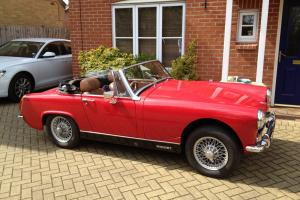 MG Midget 1973 Show Condition