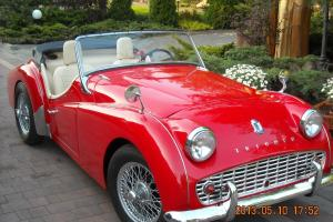 TRIUMPH TR3 1959 ROADSTER LHD  Photo