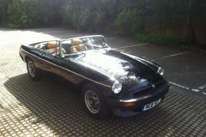 1984 MGB ROADSTER LE - V.RARE - MOT'd & TAXED - MINT CONDITION MG B CONVERTIBLE Photo