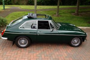 MG BGT British Racing Green Photo