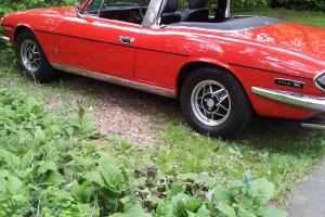 triumph stag mk 2 Photo