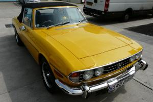Triumph Stag Inca Yellow 3.0 V8 1977 Immaculate Show Car