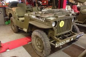 Hotchkiss Jeep m201 Willys Ford classis rare ww2 MB GPW NO RESERVE !!!! ****