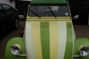 1986 CITROEN 2 CV6 SPECIAL GREEN/YELLOW. GALVANISED CHASSIS. GREAT CONDITION
