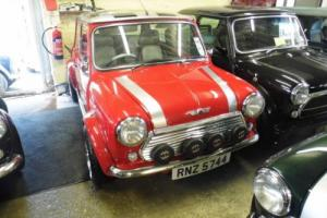 2000 Rover Mini Cooper Sport in Solar Red very UNIQUE
