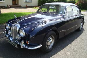 1968 DAIMLER V8 250 JAGUAR MK 2 RUNNING RESTORATION PROJECT FRESH MOT