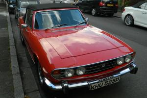TRIUMPH STAG 1976 MK 2 ONLY 2 PREVIOUS OWNERS NEW MOT & TAX ORIGINAL STAG V8 Photo