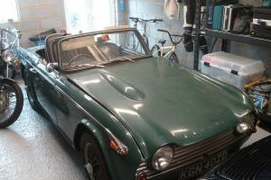 Triumph TR4a IRS 1966 Geniune UK RHD Overdrive model Photo