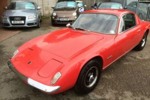 Lotus Elan +2 sport 1969 loads of history moted historic tax
