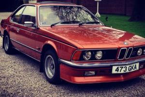 BMW 633CSI Bronze Mint Condition New Engine Private Plate Included