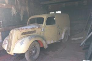 Fordson 5cwt Van1940'sVintage Commercial Hot Rod Barn Find Restoration Project