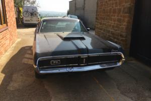 1969 Mercury Cougar XR-7 - Eliminator Clone 351w & 4 SPEED BLACK BARN FIND