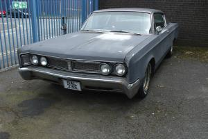 chrysler newport custom coupe 1967 383ci v8 mopar same engine as jensen rat look Photo