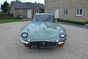 1971 JAGUAR E TYPE GREEN SERIES 3 v12 etype e-type SUPERB WELL MAINTAINED CAR  Photo