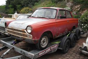 Cortina mk1 1500 GT 2 door restoration project