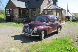 1968 Morris Minor 2 door - Tax and MOT - No Reserve