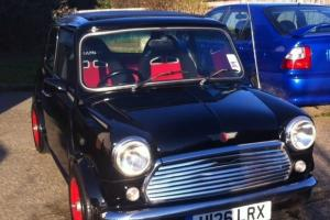 Classic Mini Mayfair Black/ Red MOT 2/2015, taxed until 9/14