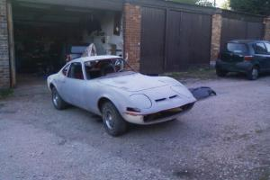 OPEL GT 2DR SPORT 1.9 LHD RARE VEHICLE, UNFINISHED PROJECT