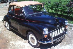 1968 Morris Minor Convertable....Immaculate...!!