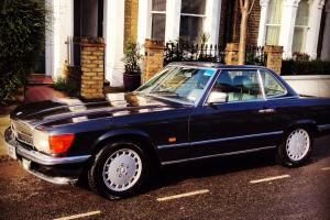 Mercedes 300SL Classic Car Charcoal Grey 1987