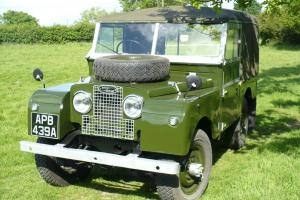 """Land Rover Series 1 - 86"""" Regular Soft Top, Classic Land Rover Series I"""