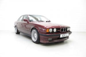 An Exclusive E34 BMW Alpina B10 3.5/1 with Only 59,313 Miles and Three Owners