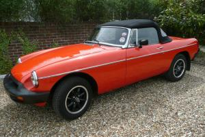 MGB ROADSTER 1980 Photo