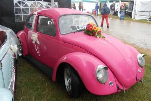 VW 1966 custom Beetle pink magenta rare ex show/drag car not split bay t4 t5
