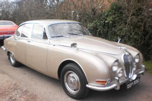 CLASSIC 1966 JAGUAR S TYPE 3.8 MANUAL OVERDRIVE MATCHING NO,S Photo