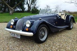 1992 Morgan Plus 4 DK. Blue/ Cream Int Low Milage Excellent Cond View Bristol