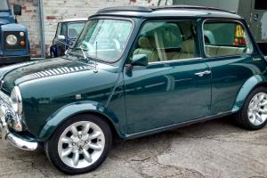 LHD LUXURY MINI 1.3i KENSINGTON-LEATHER-ELECTRIC SUNROOF-FREE DELIVERY